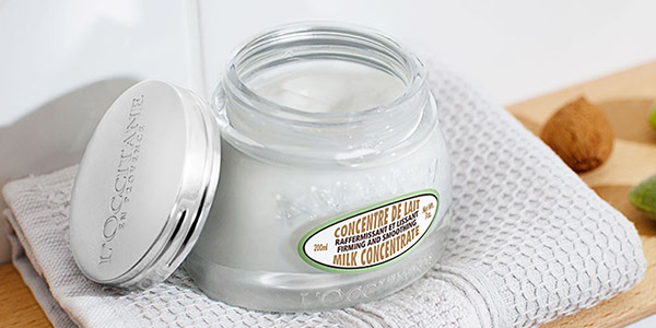 Pamper your body - Almond body cream - l'Occitane