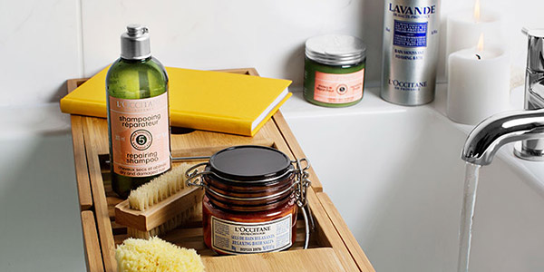 Spa day golden rules - l'Occitane
