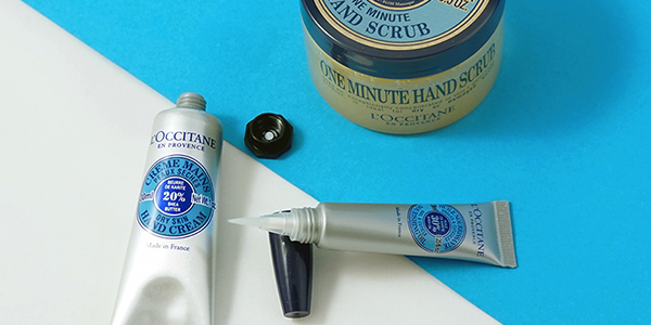 Nail care - Shea butter hand care routine - l'Occitane